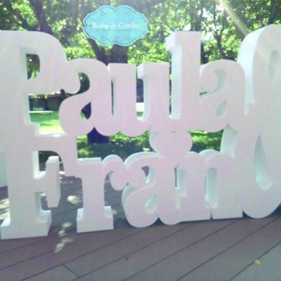 Paula y Fran - Nombres Enlazados