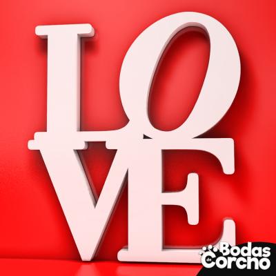 """Figura de la palabra """"LOVE"""""""